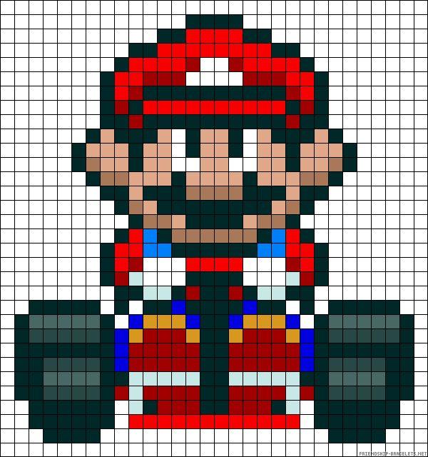 sandylandya@outlook.es Mario Kart perler bead pattern perler,hama,square pegboard,video games,nintendo,mario,