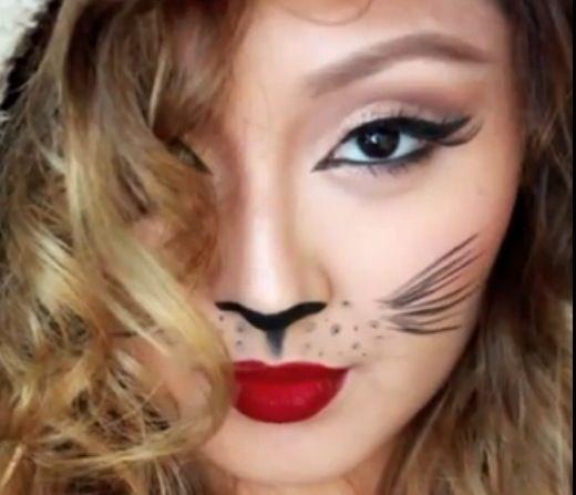 26 best MAKEUP: Cat images on Pinterest   Costumes, Halloween ...