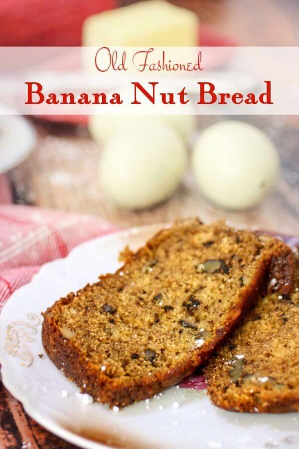 Buttermilk Banana Bread Recipe Quick Bread Recipes Pinterest