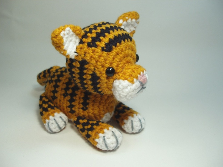 17 Best images about Tiger on Pinterest Toys, Ravelry and Tiger cubs