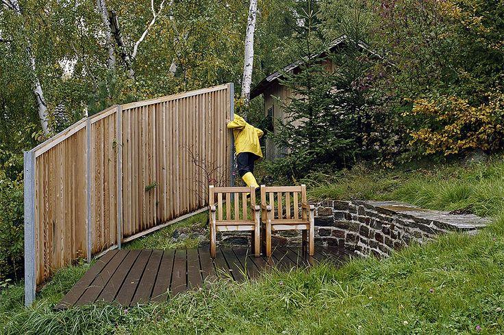 Sichtschutz Ausführung Gartenservice Candussi Projektzeitraum