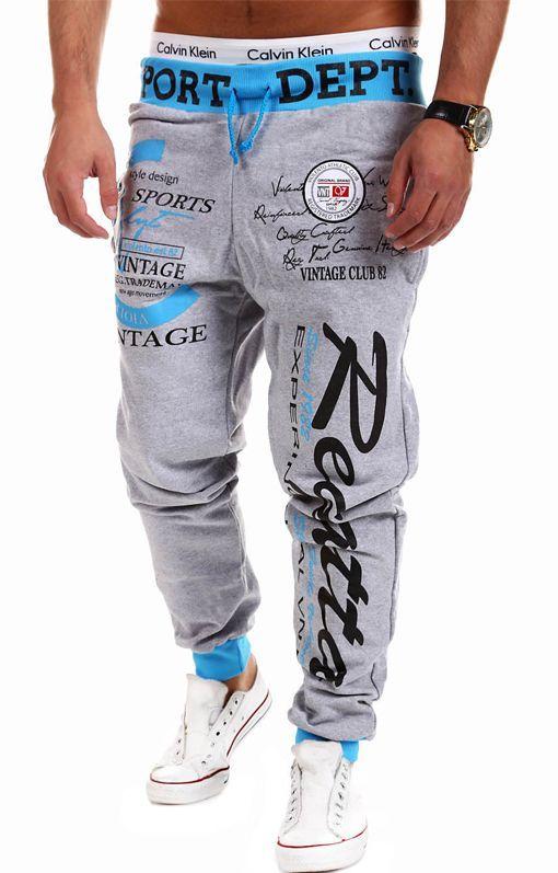 Jogger Pants Outdoors Joggers Men Male Letter Print Harem Pants Sweat Pant Men Trousers Wear Mens Jogger 3XL EYFMF