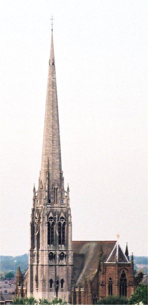"""Saint Walburge's in Preston, Lancashire, the tallest Parish Church in the…"