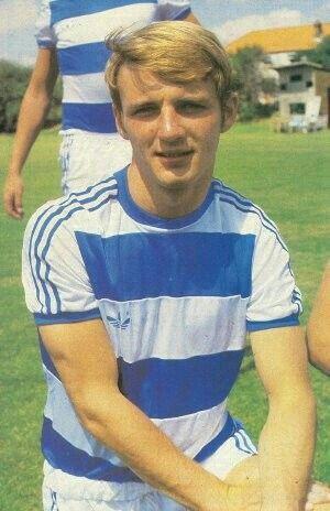 Paul Goddard of QPR in 1978.