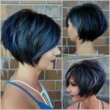 Women's Hairstyles Hairstyles 2018 Bob Stufig Trends Bob Hairstyles Tiered Bob Hairstyles 2018 Back of the head view | Simple hairstyles