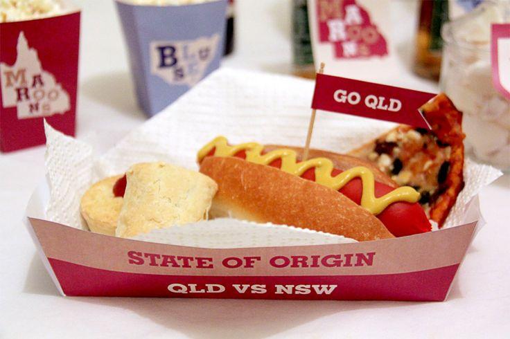 State of Origin Food Basket | Creative Sense Co