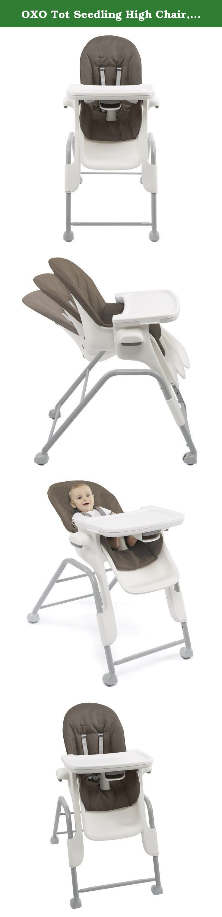 Delightful OXO Tot Seedling High Chair, Mocha. The Seedling Chair Will Stay With Your  Child From 4 Months To 3 Years, Adjusting And Growing With Them. The Conu2026 Gallery