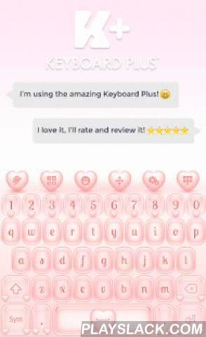Keyboard Hearts  Android App - playslack.com ,  How to install a Keyboard Plus theme? Just follow these easy steps:1. Download Hearts Keyboard from Google Play Store2. Open the Hearts Keyboard theme3. Apply the theme by pressing the - Activate - button from the Keyboard Plus Theme ManagerIf you want to change your font size just go to the Quick Settings Tab and choose from one of the 3 available sizes: small, medium or large.This Keyboard Plus theme uses a free Google Font available here…