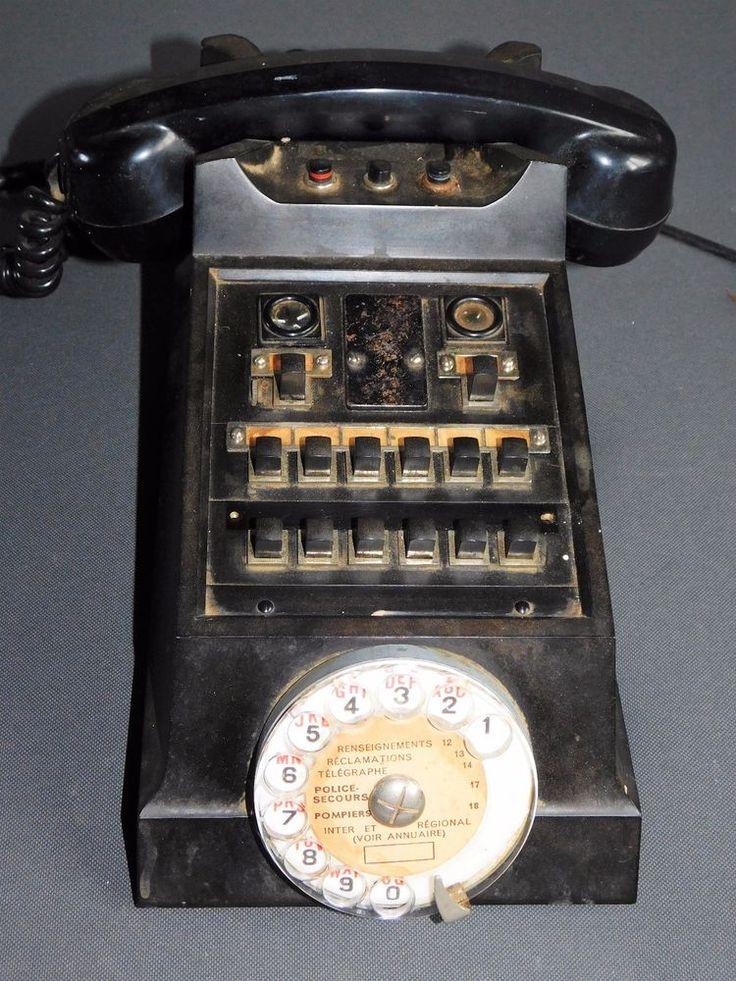 les 25 meilleures id es concernant ancien t l phone sur pinterest objets vintage t l phone et. Black Bedroom Furniture Sets. Home Design Ideas