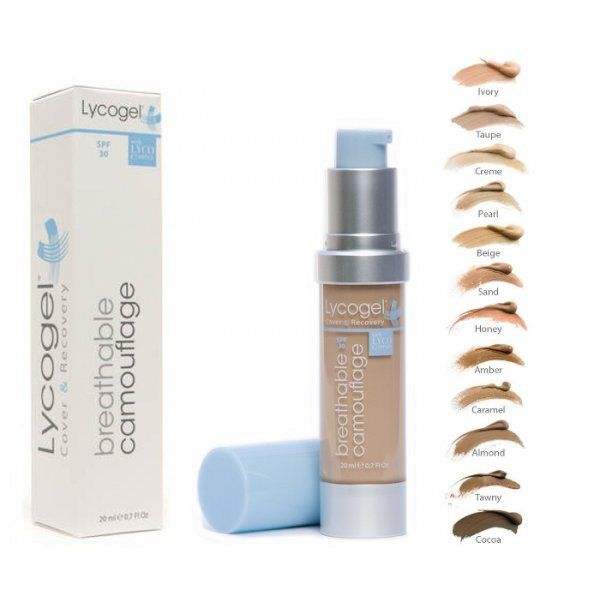 Lycogel: make-up that protects and calms facial eczema?