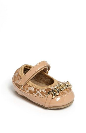 MICHAEL Michael Kors 'Grace' Flat (Baby) available at #Nordstrom