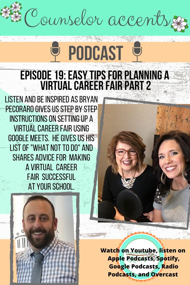 Planning a Virtual Career Fair in 2020 High school