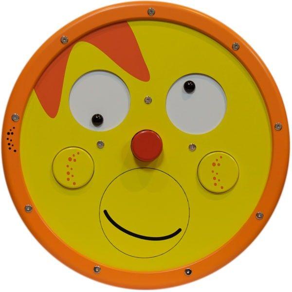 Deze Playwheel Speelwand Happy Feelingis van hoogwaardige kwaliteit en bevorderd de creativiteit, inzicht en fantasie van kinderen en is ideaal voor op de muur van uw kinderhoek.    Met dit mooie Playwheel Speelwand Happy-Feelingkan een kindop een speelse zijn gevoel weergeven door de mond wangen en de ogen te draaien op verschillende manieren.   Deze Playwheel / Speelwand is van hoogwaardige kwaliteit en bevorderd de creativiteit, inzicht en fantasie van kinderen.