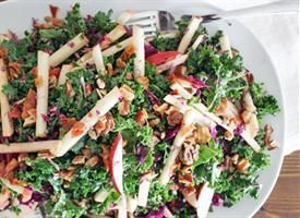 kale apple and pancetta salad kool kids salad dressing recipes salad ...
