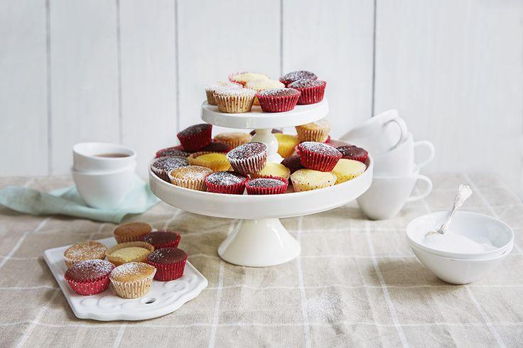 Mini-muffins til selskapet