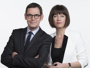 Carole Gaessler et Francis Letellier, le duo de France 3