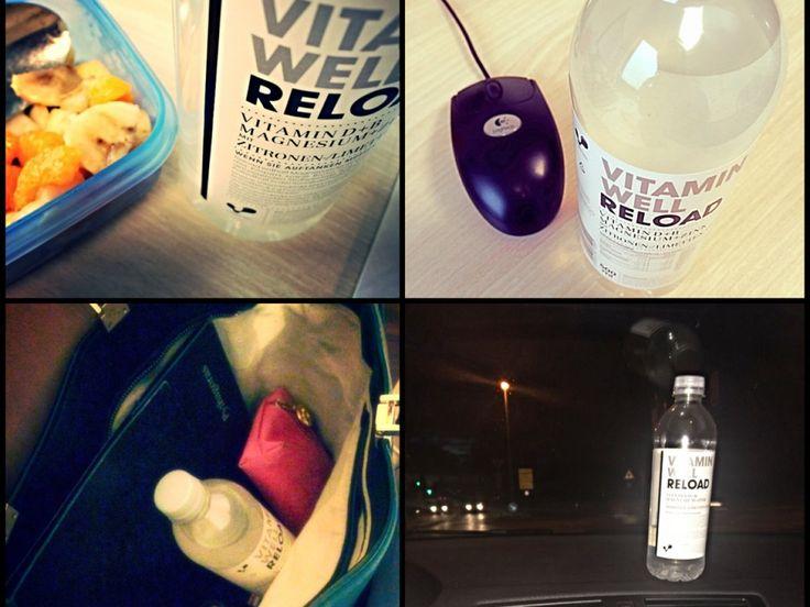 All around the Day :) #vitaminwell #vitaminwelldeutschland #mytest