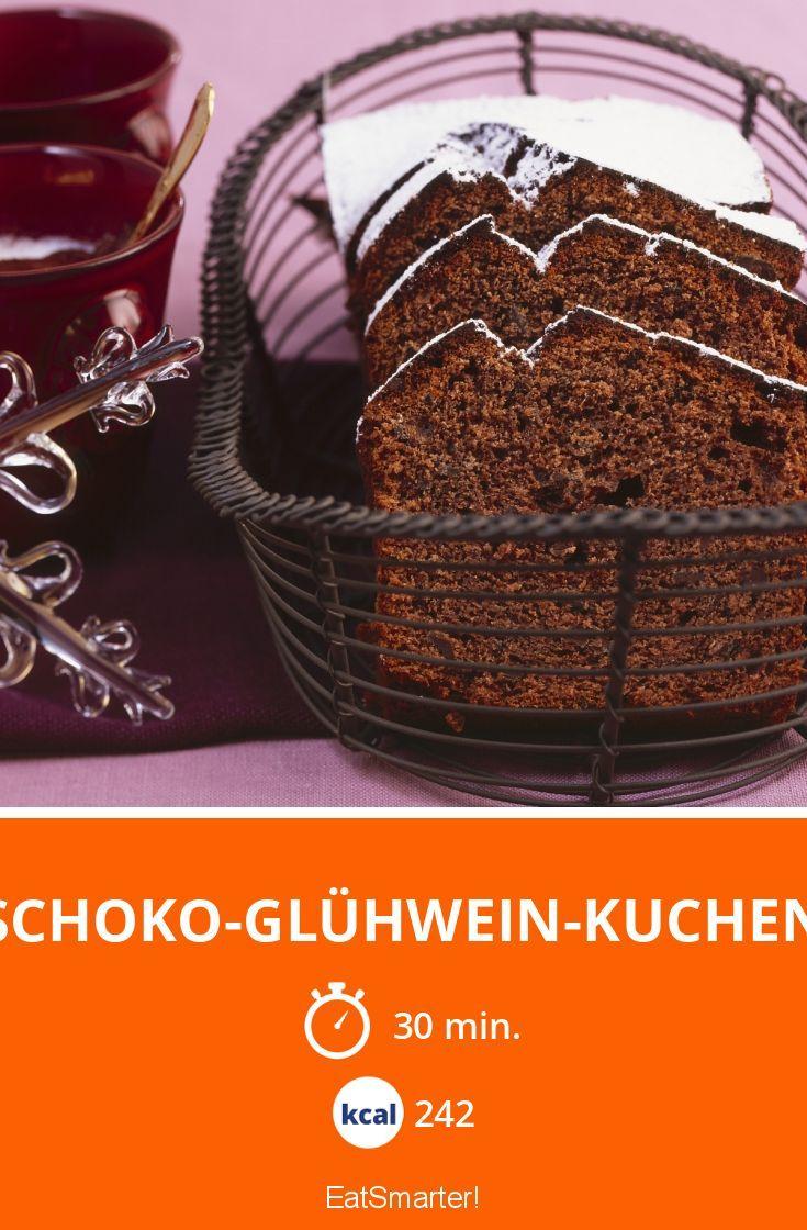 Schoko-Glühwein-Kuchen - smarter - Kalorien: 242 kcal - Zeit: 30 Min.   eatsmarter.de