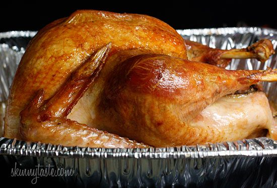 How to Roast a Brined Turkey (keep reading about brining and how good it makes the turkey turn out.  I guess we'll see.)