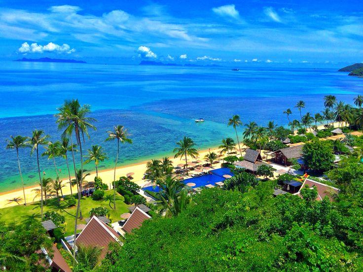 Private Beach & Pier @ InterContinental Samui Baan Taling Ngam Resort