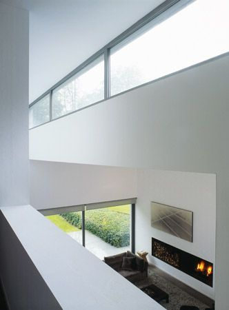 House In Uccle Belgium By Marc Corbiau Architect