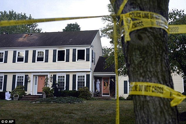 Crime scene: Mr Sheridan, the millionaire CEO of Cooper Health System, and his wife were f...