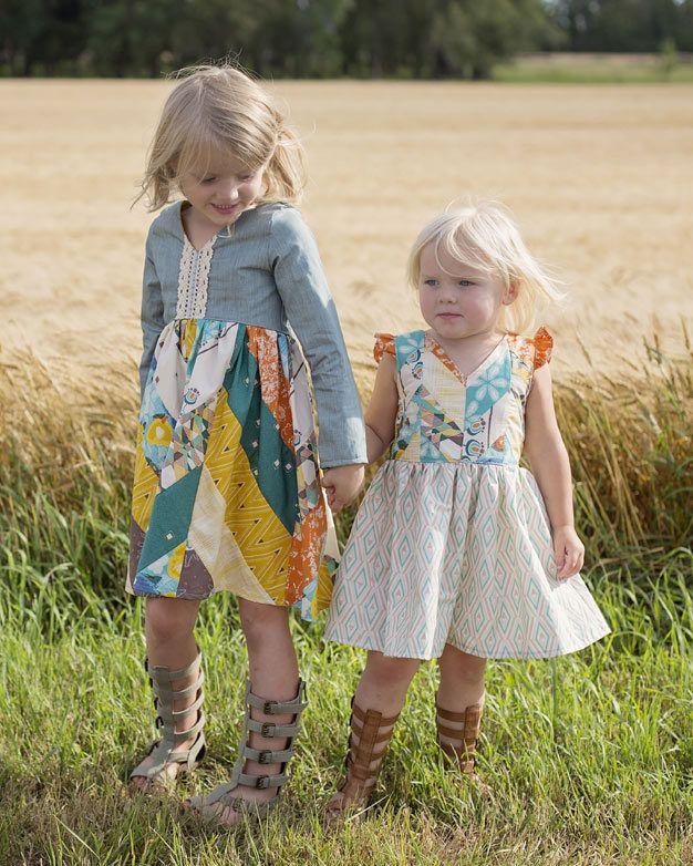 146 besten Patterns: Girl\'s Dresses Bilder auf Pinterest | Maxi ...