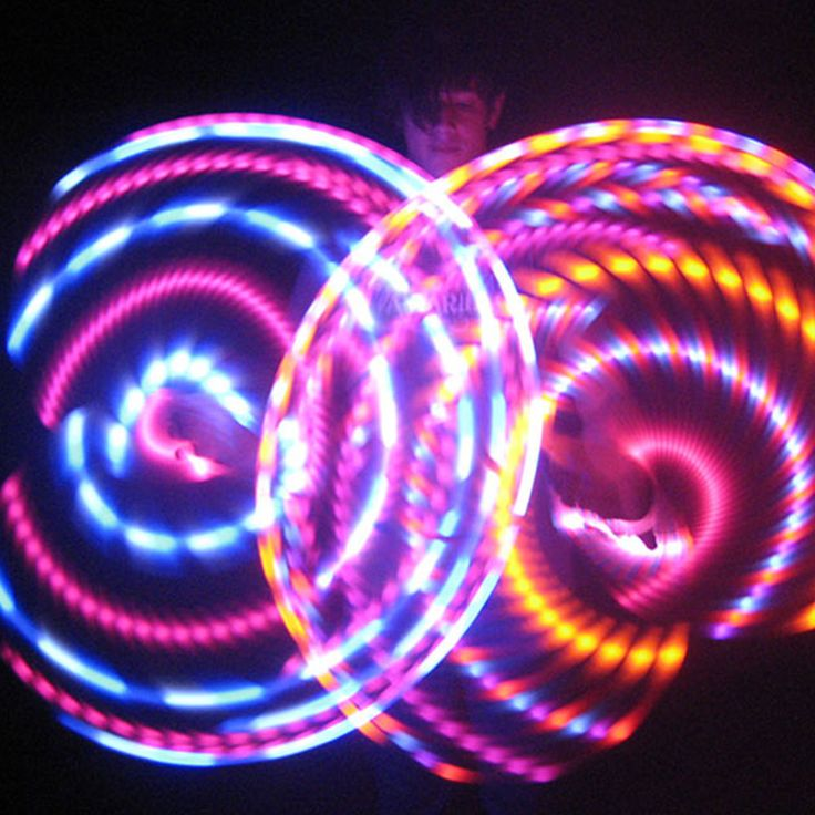 MoodHoops.com makes beautiful LED hoops, LED poi, fire toys and more.