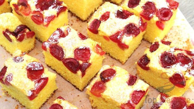 Luftiger Kirschkuchen | Top-Rezepte.de