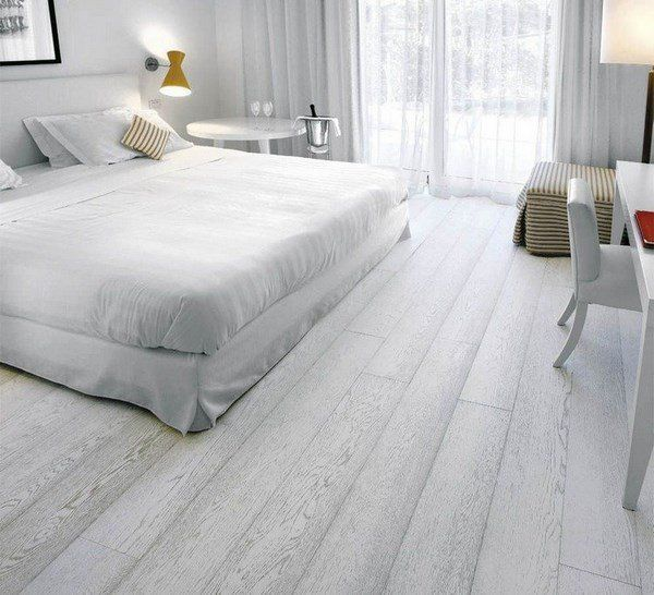 grey hardwood floors bedroom design ideas color scheme in ...