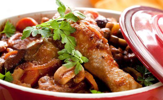 Epicure's Quick Chicken Cacciatore