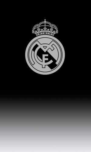 Monochrome Real Madrid Badge
