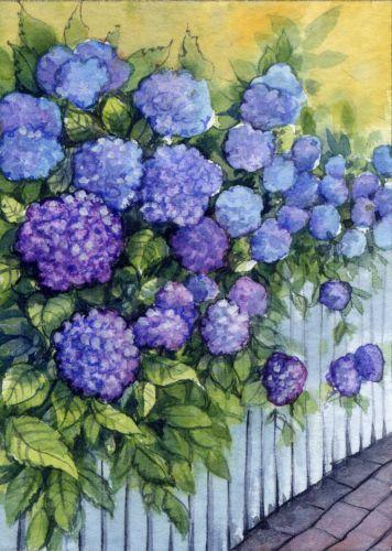 ACEO-Art-Card-2-5-x-3-5in-Original-Watercolor-Flowers-by-Elena-Mezhibovsky