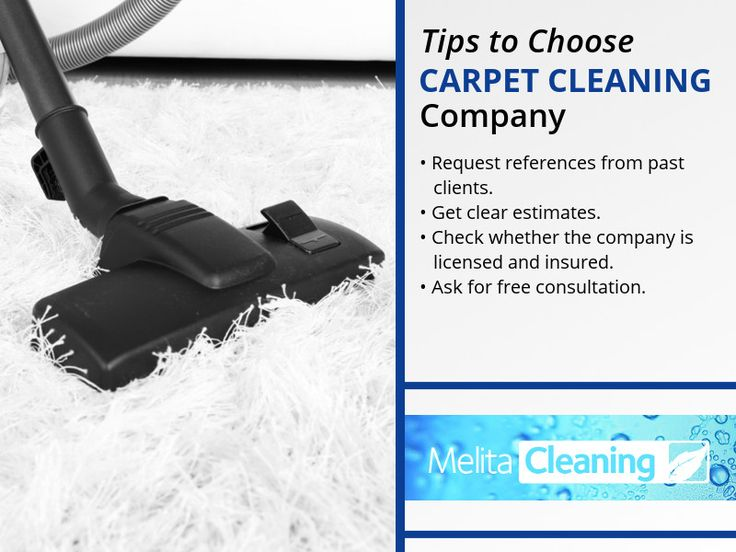 Tips to Choose Carpet Cleaning Company - •Request references from past clients. •Get clear estimates. •Check whether the company is licensed and insured. •Ask for free consultation.