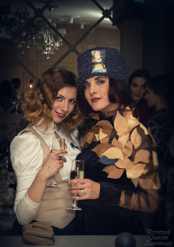 Girls drink photo
