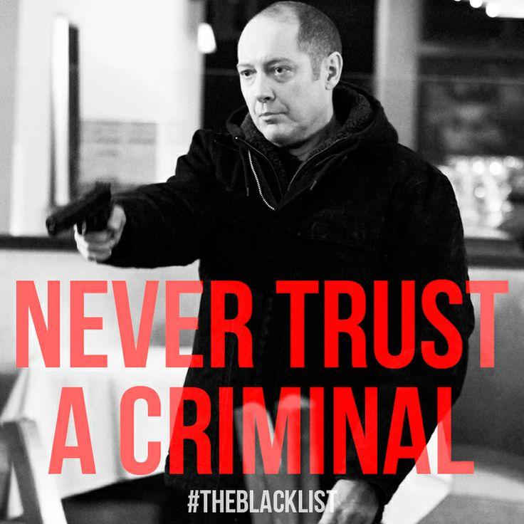 Never Trust a Criminal