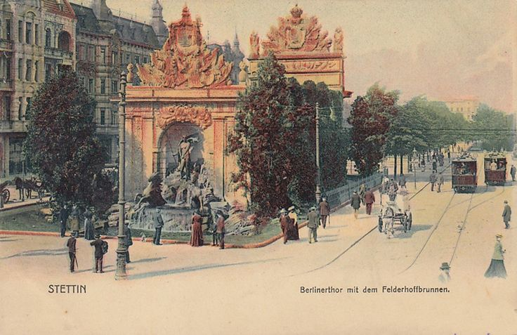 Brama Portowa (Berliner Tor), Szczecin - 1903 rok, stare zdjęcia