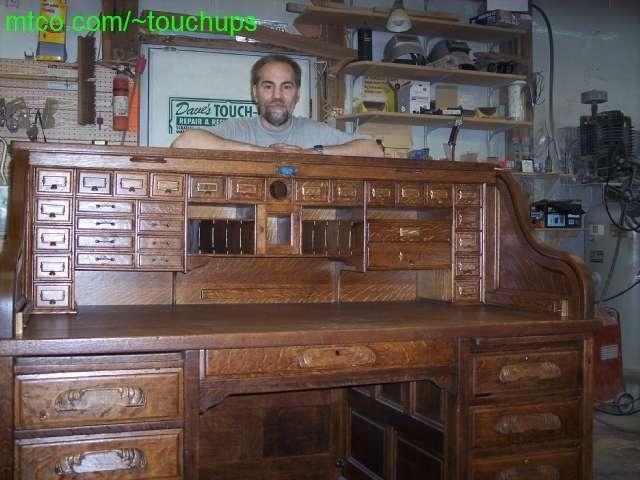 Old desk rebuilt and restored - 38 Best Roll Top Desk Images On Pinterest Antique Desk, Antique