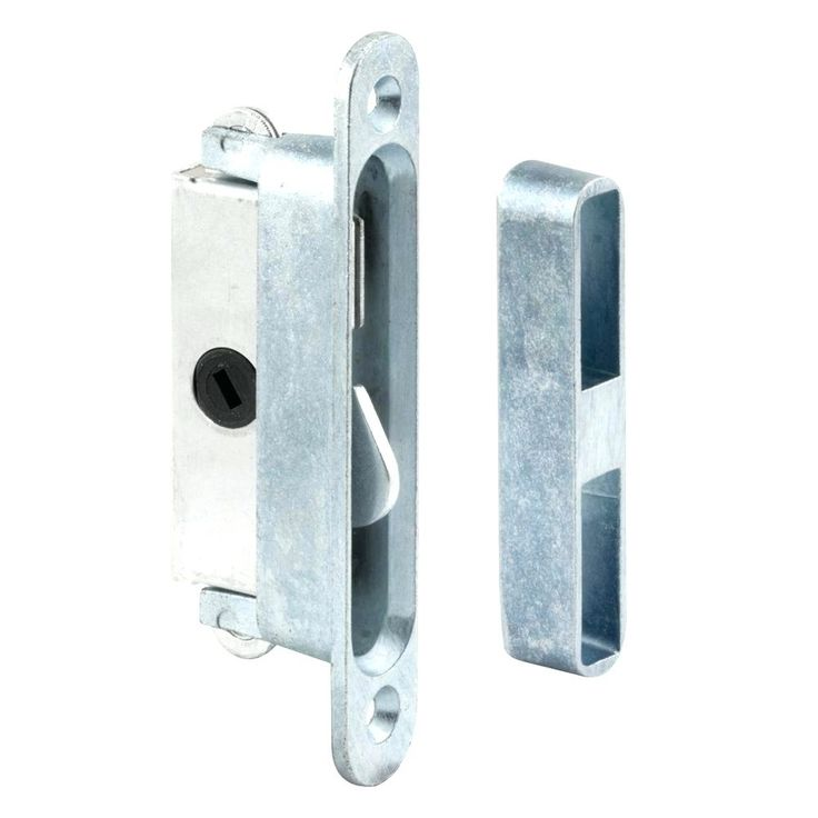 Lanai Sliding Glass Door Handle And Mortise Lock Set