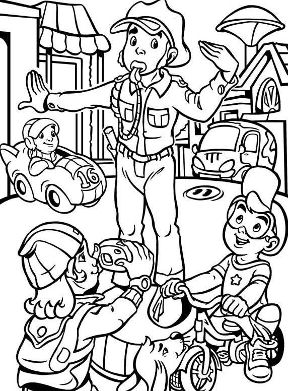 Policia tráfico   Projectes E.I   Pinterest   Policía, Colores y ...