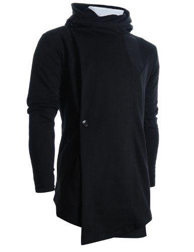 FLATSEVEN Herren Designer Rollkragen Hoodie unsymmetrisch Long Strickjacke Jacke (CL01) FLATSEVEN, http://www.amazon.de/dp/B009NVOCQK/ref=cm_sw_r_pi_dp_CyUNtb14ZE5XX