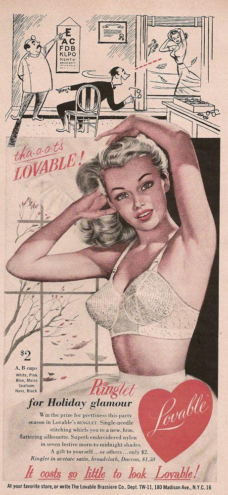 33d18039616c9 retro bra advertising - AOL Image Search results | Retro Underwear ...