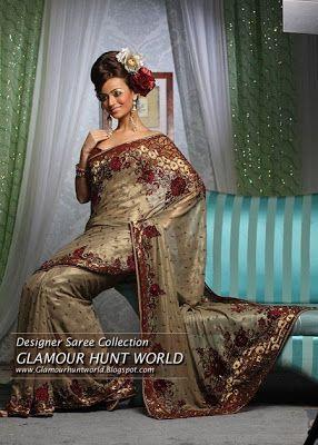 Glamour Salman | Salman Khan News | Bollywood News | Fashion And Clothing: Indian Designer Sarees Collection | Embroidered Saree Designs | Bridle Saree 2010-11