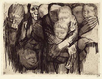 Käthe Kollwitz – Mütter I. Fassung, 1918