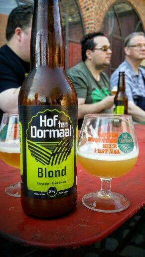 Brouwerij Hof Ten Dormaal Blond. Watch the video Beer review here www.youtube.com/realaleguide #CraftBeer #RealAle #Ale #Beer #BeerPorn #BrouwerijHofTenDormaal #BrouwerijHofTenDormaalBlond #Blond #BelgianCraftBeer #BelgiumBeer