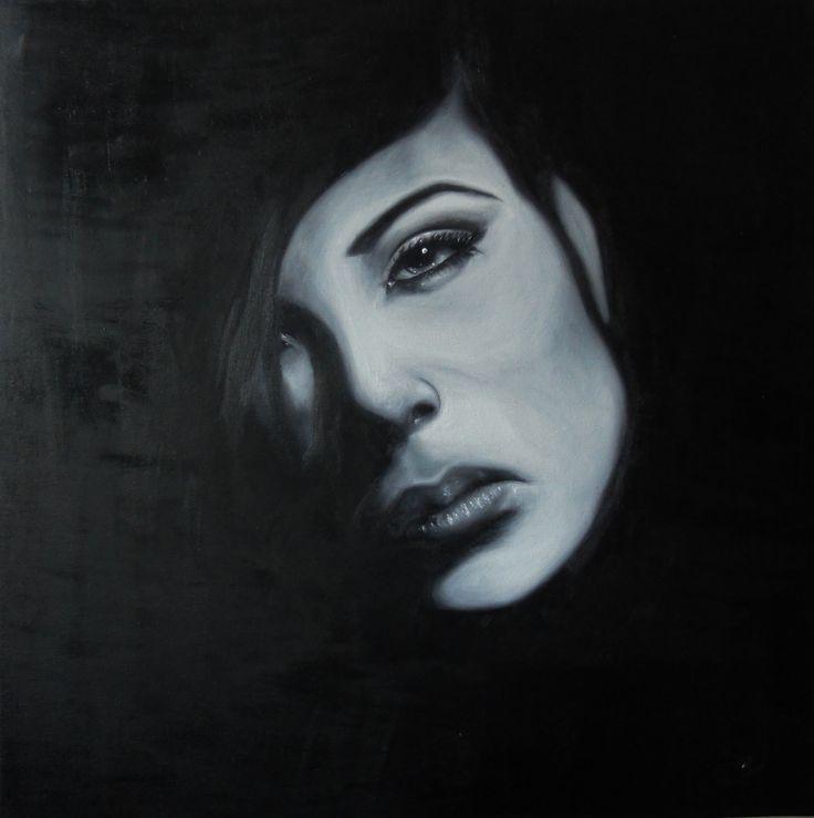 olej na plátně/oil on canvas  40x40cm