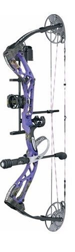 2018 Diamond Edge SB-1 Compound Bow Package Purple Blaze Left Hand