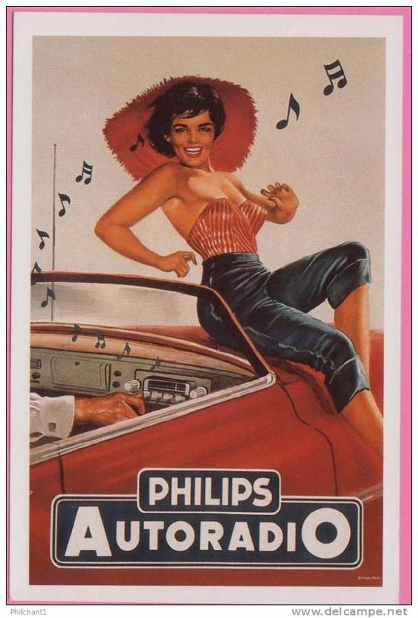 Great old #advertising times - philips pin up