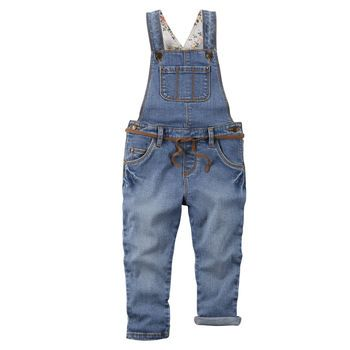 Christmas? Stretch Denim Overalls