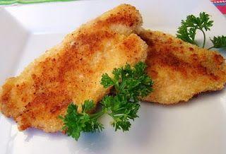 parmesan crusted pan fried tilapia